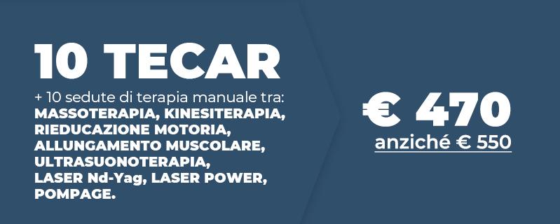 Centro Fisioterapico Aurelio offerta Tecar